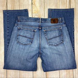 PERRY ELLIS Blue Straight Leg Jeans, Denim